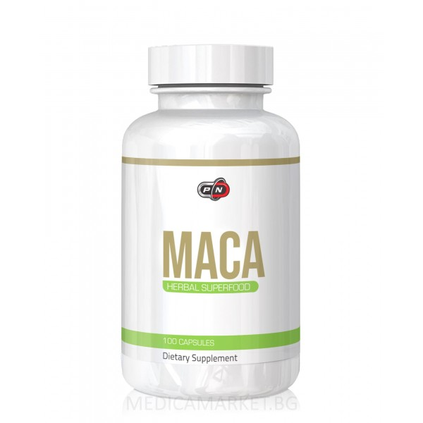 PURE NUTRITION MACA 500 мг. 100 капс.